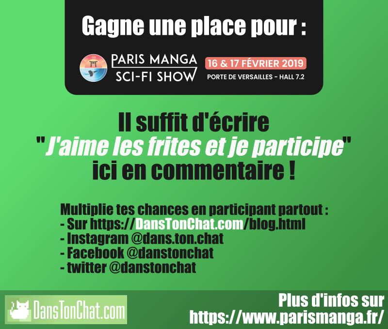 Concours Paris Manga 2019